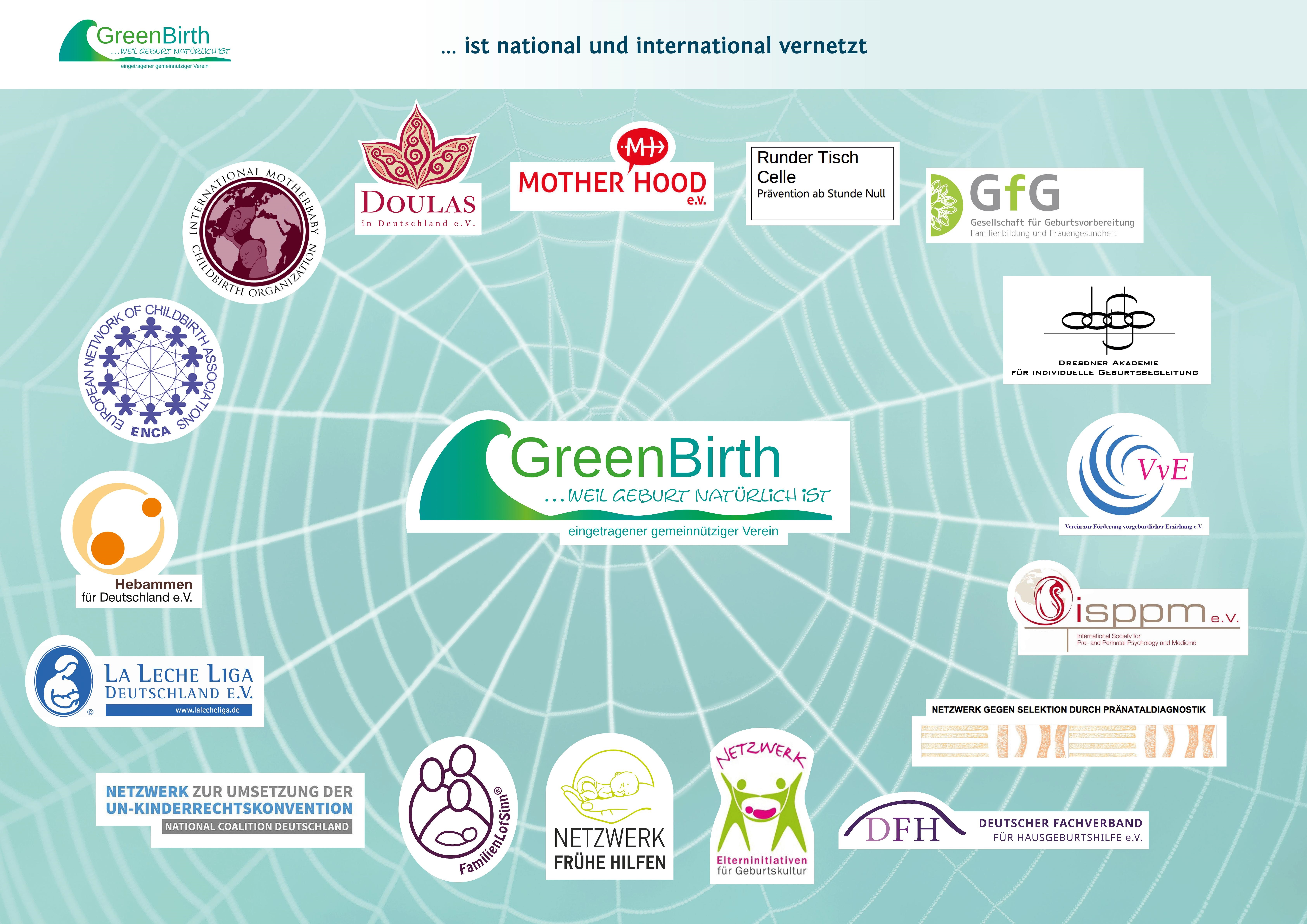 Greenbirth vernetzt